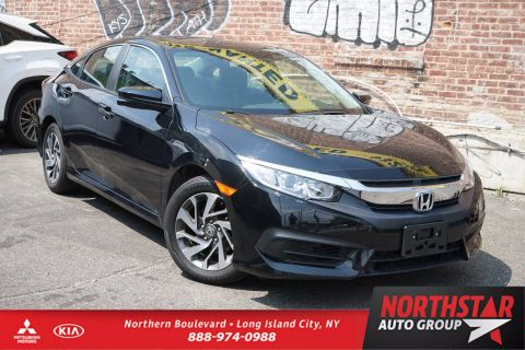 Pre-Owned 2017 Honda Civic Sedan EX FWD 4dr Car