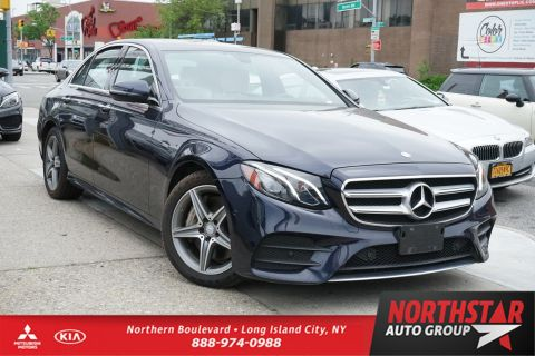 Pre-Owned 2017 Mercedes-Benz E-Class AWD 4MATIC 4dr Car